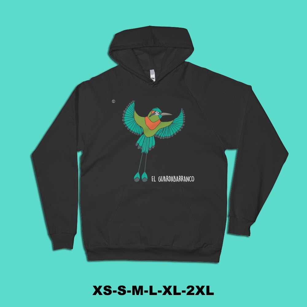 Image of Central American Bird Hoodies