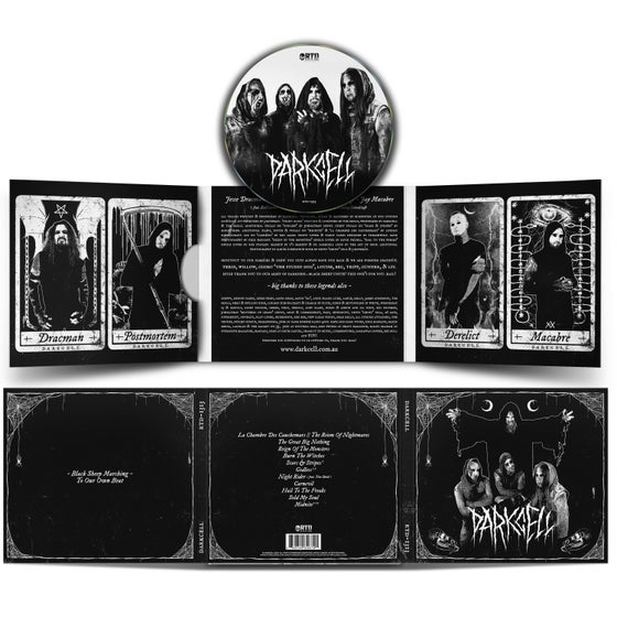 Image of Darkcell (Digipak CD) [pre-order]