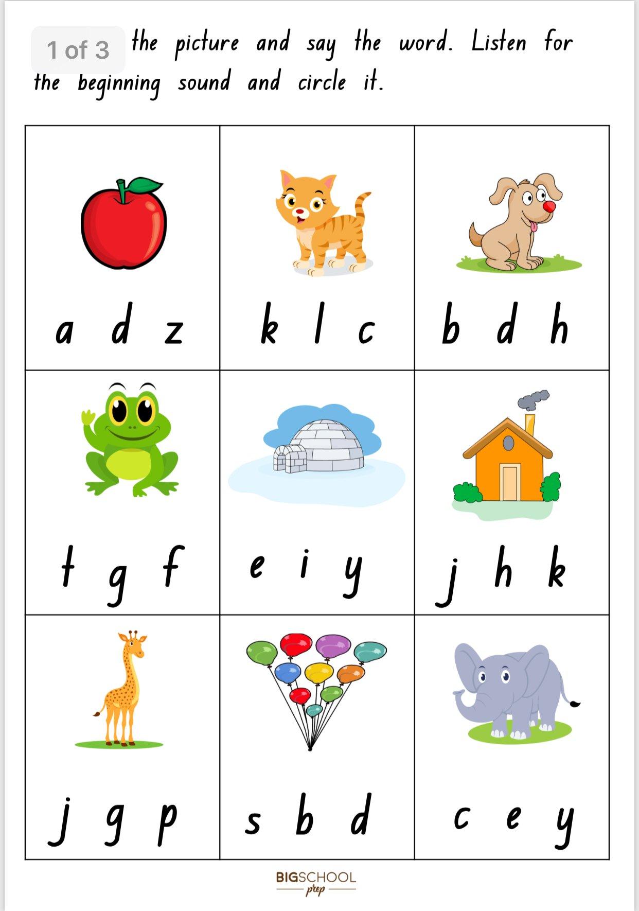 Sight Word and Sound Kit | Big School Prep