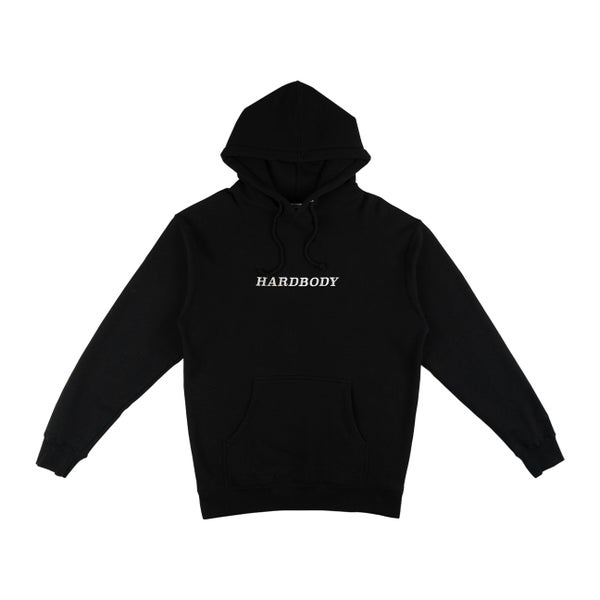Image of HARDBODY CLASSIC LOGO HOODY - BLACK