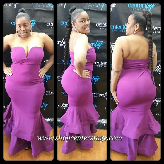 Image of 2 tier sweetheart dress