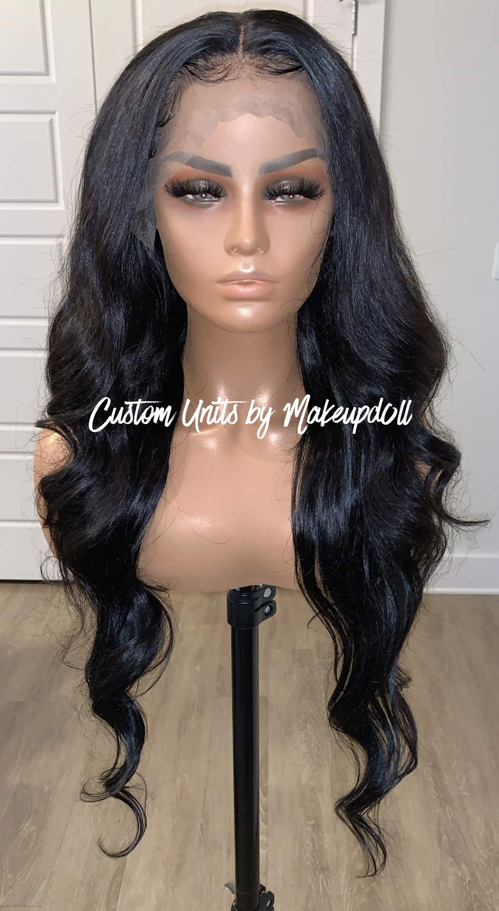 "Image of Brazilian Body Wave 30"" Lace Frontal Wig!"