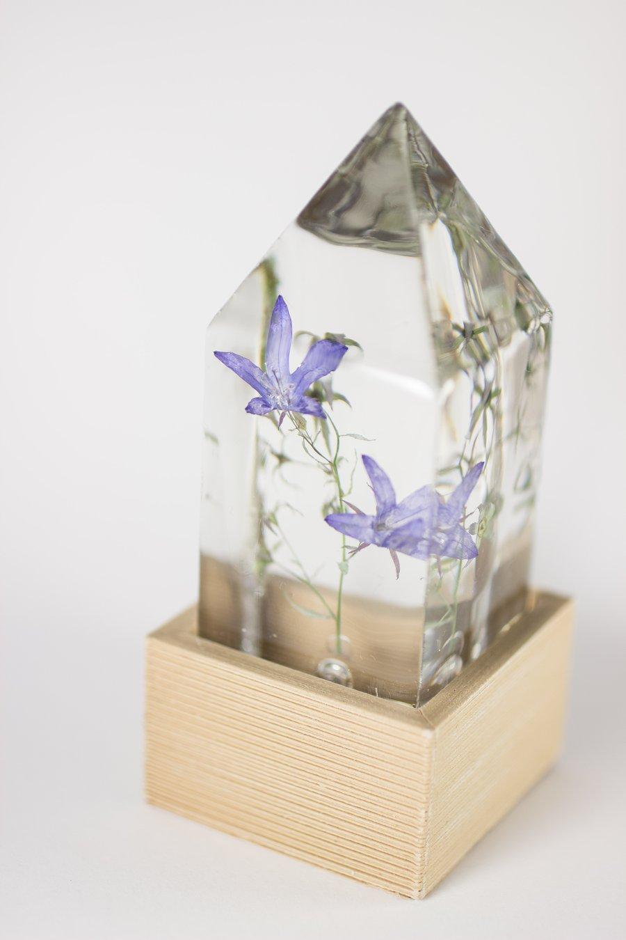 Image of Campanula (Campanula) - Floral Desk Light