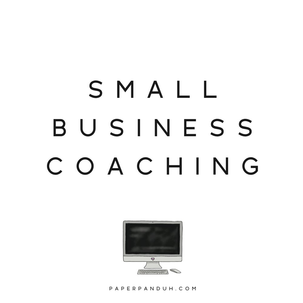 Image of Small Business Coaching