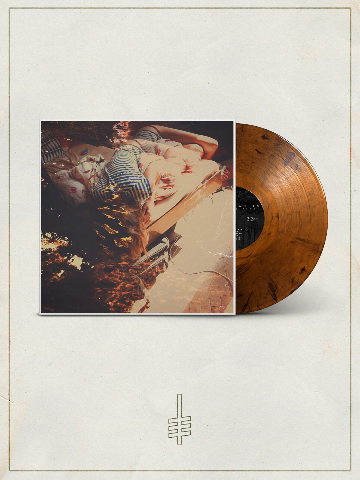 "Image of ""Desolate Peaks"" Vinyl - 2nd Pressing"