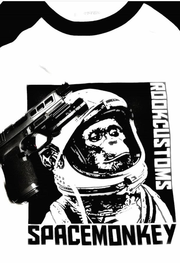 Image of SpaceMonkey Jersey Tee
