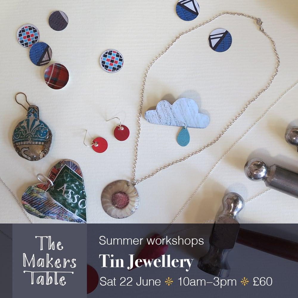 Image of Tin Jewellery Workshop