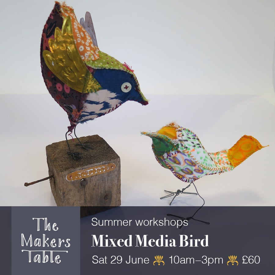 Image of Mixed Media Bird Workshop I