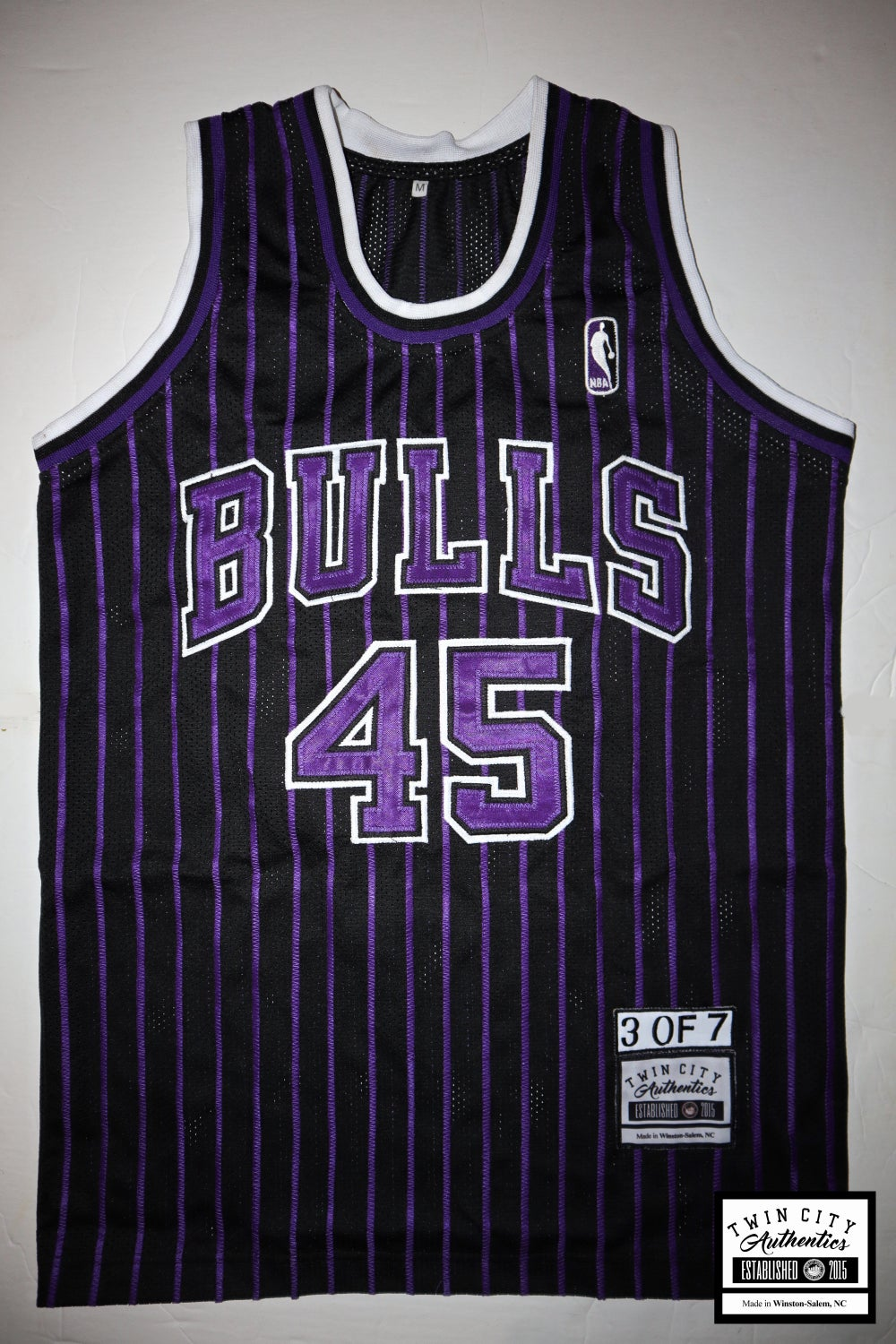 Image of Concord #45 Bulls (stripes are stitched)