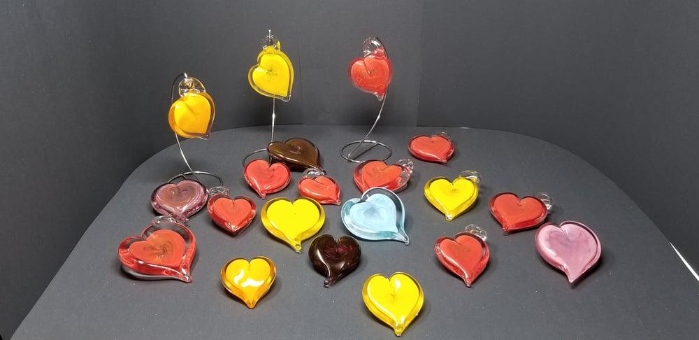 "Image of 3"" Heart Sculpture"