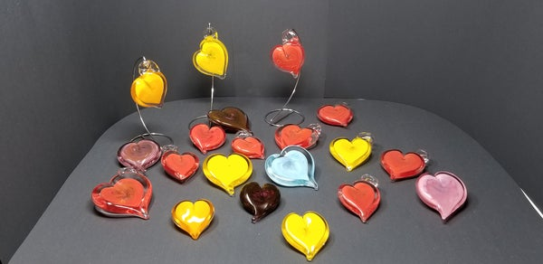"Image of 3"" Heart Sculpture"