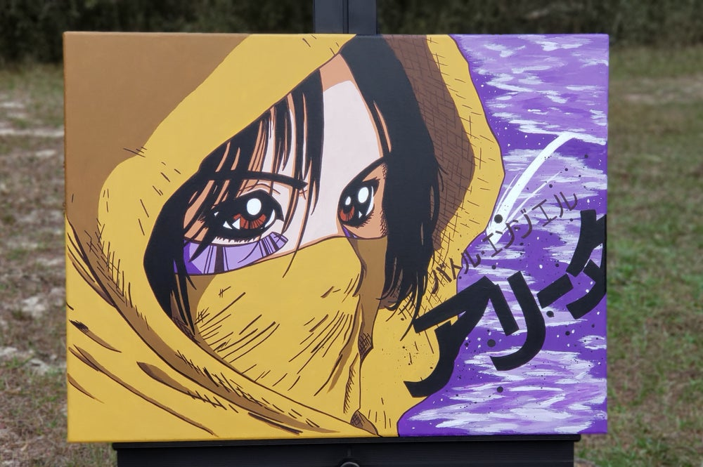 Image of Cloaked- Battle Angel Alita