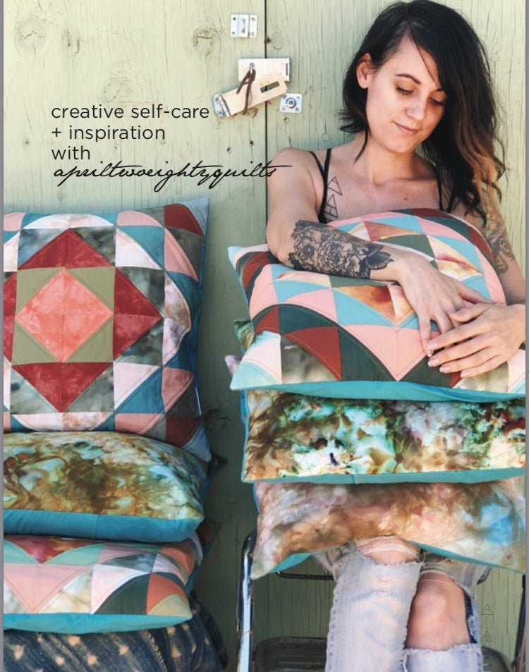 Image of creative self-care + inspiration e-zine