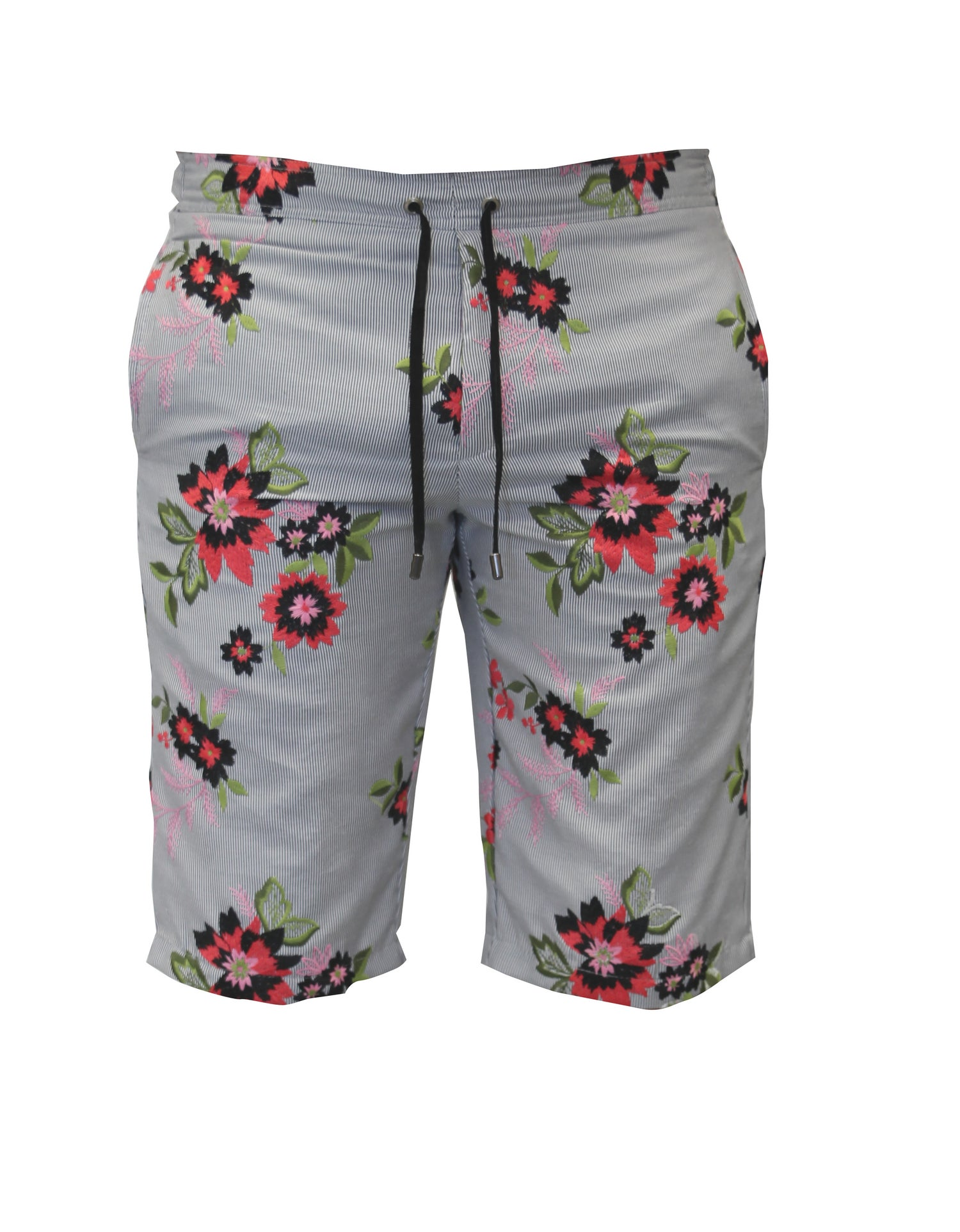 Image of Embroidered Linen Surf Short