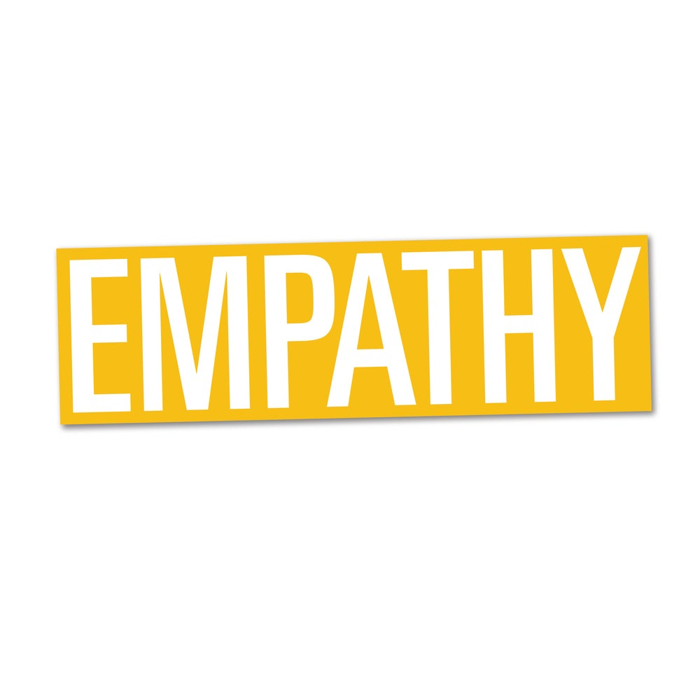 Image of Empathy Bumper Sticker, Eric Timothy Carlson