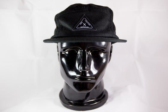 Image of NEW CHAPTER OFFICIAL CLASSIC 5-PANEL HAT BLACK