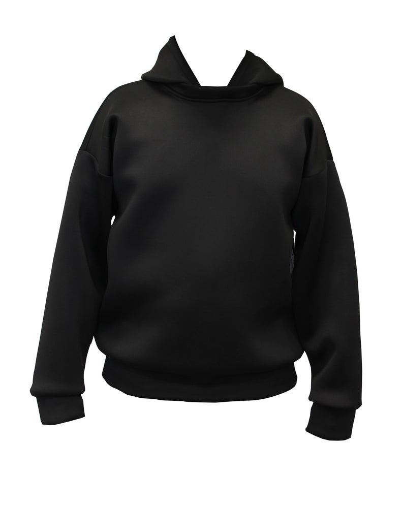 Image of Solid Techno Long Sleeve Hoodie