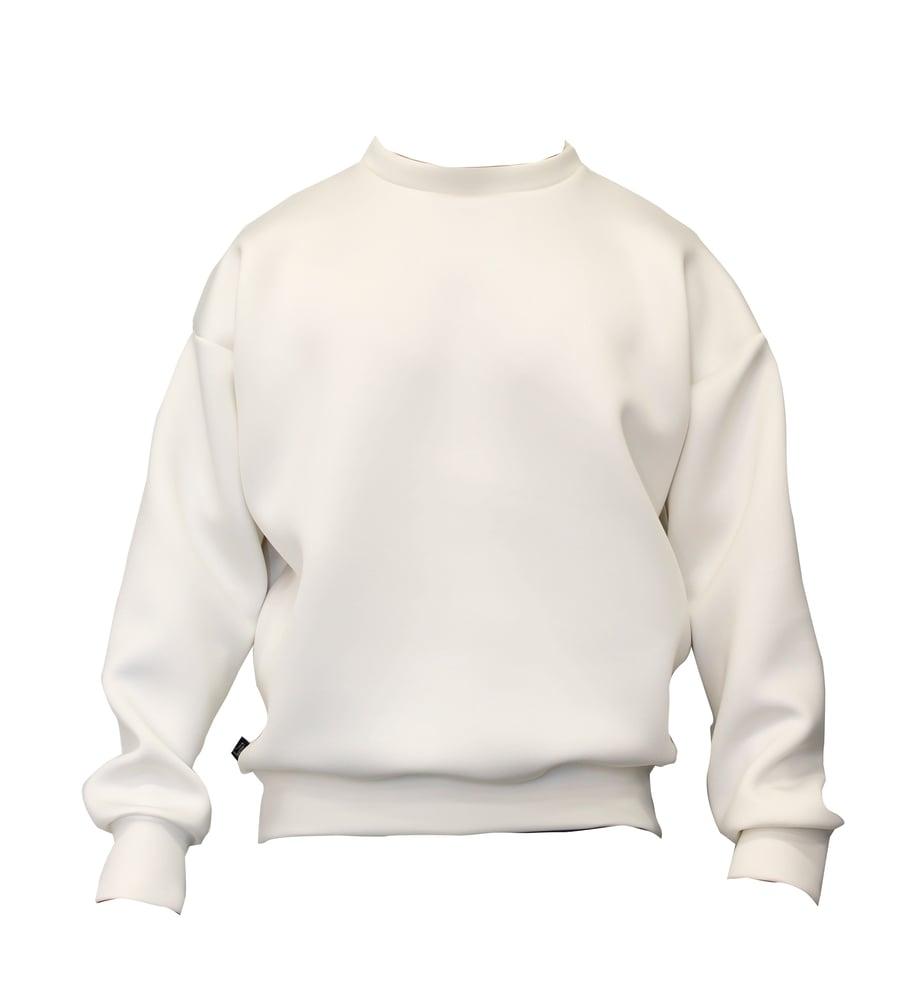Image of Solid Techno Long Sweatshirt