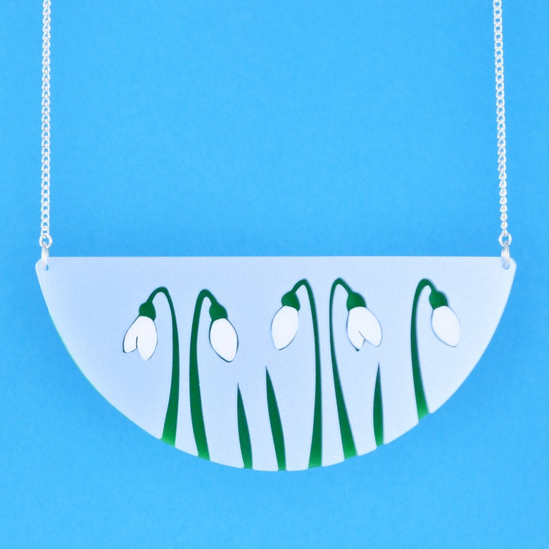 Image of Snowdrop Necklace
