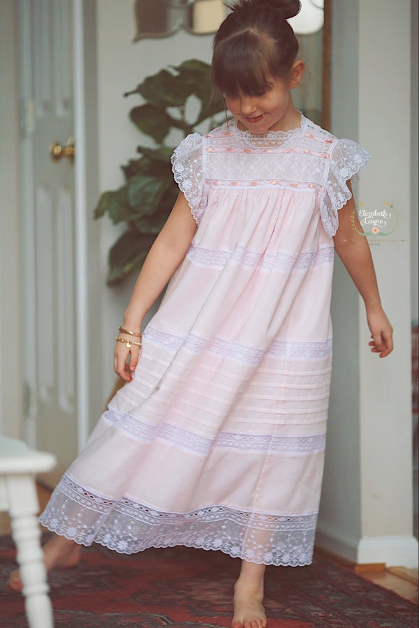Image of Carlyle English Netting Heirloom Dress