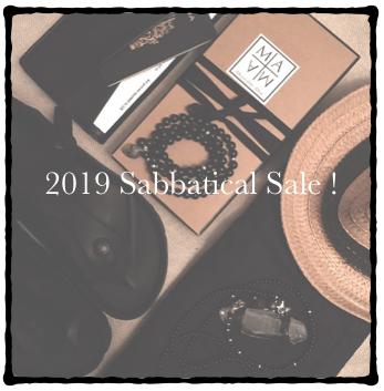 Image of 2019 Sabbatical Sale