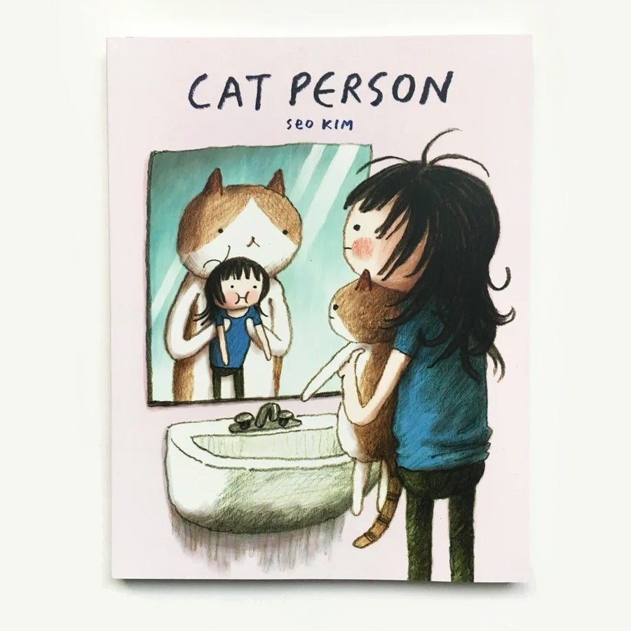 Cat Person (comes with unique drawing in book)