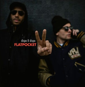 Image of Flatpocket (Twit One & Lazy Jones) - Dispo II Dispo - LP (Melting Pot)