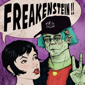 Image of TH Da Freak - Freakenstein (Green Vinyle)