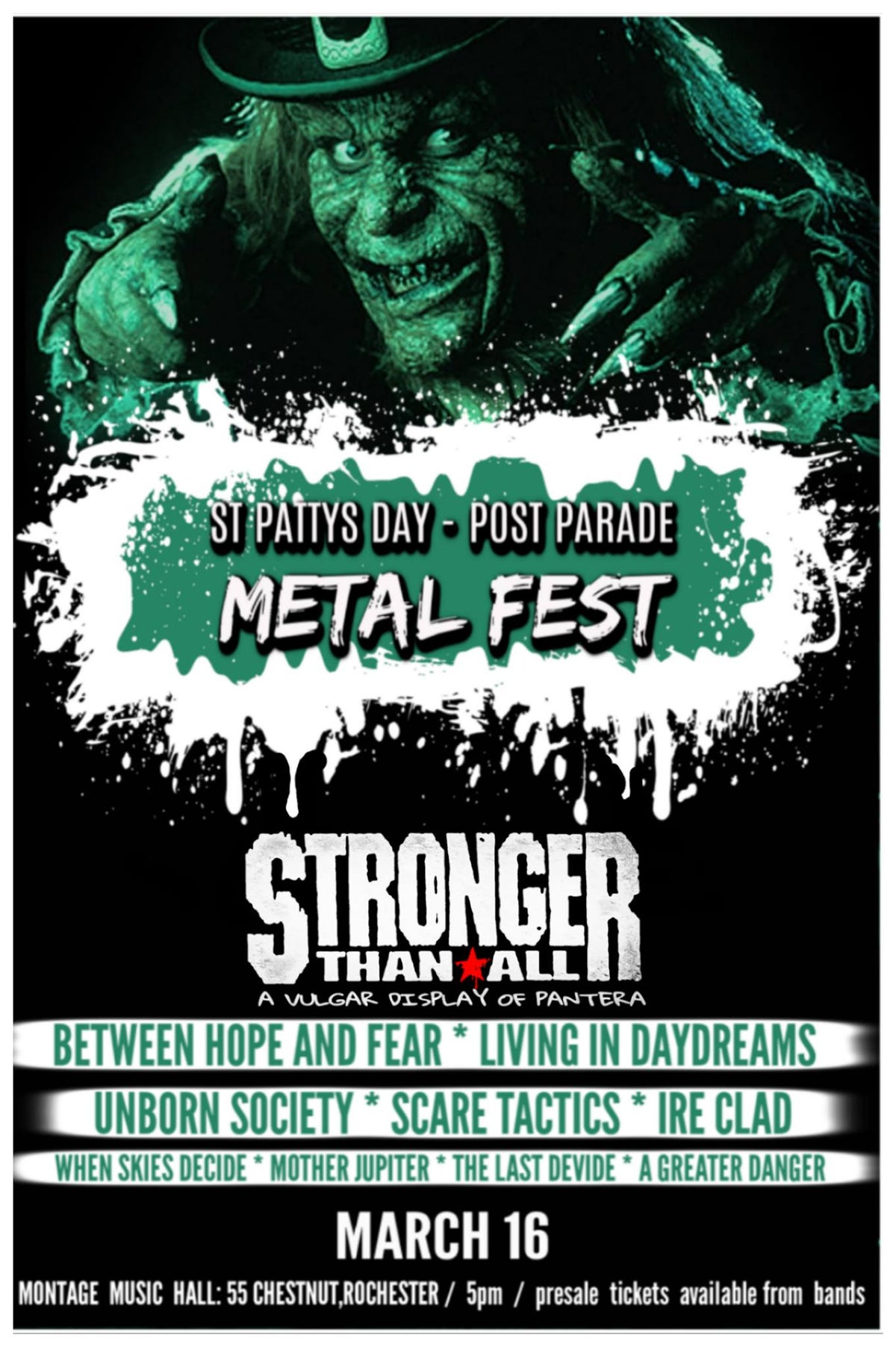 Image of St. Patty's Day Metal Fest