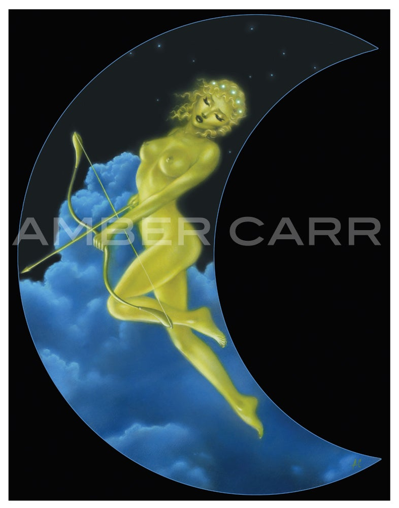 "Image of Sagittarius Print 11"" x 14"""