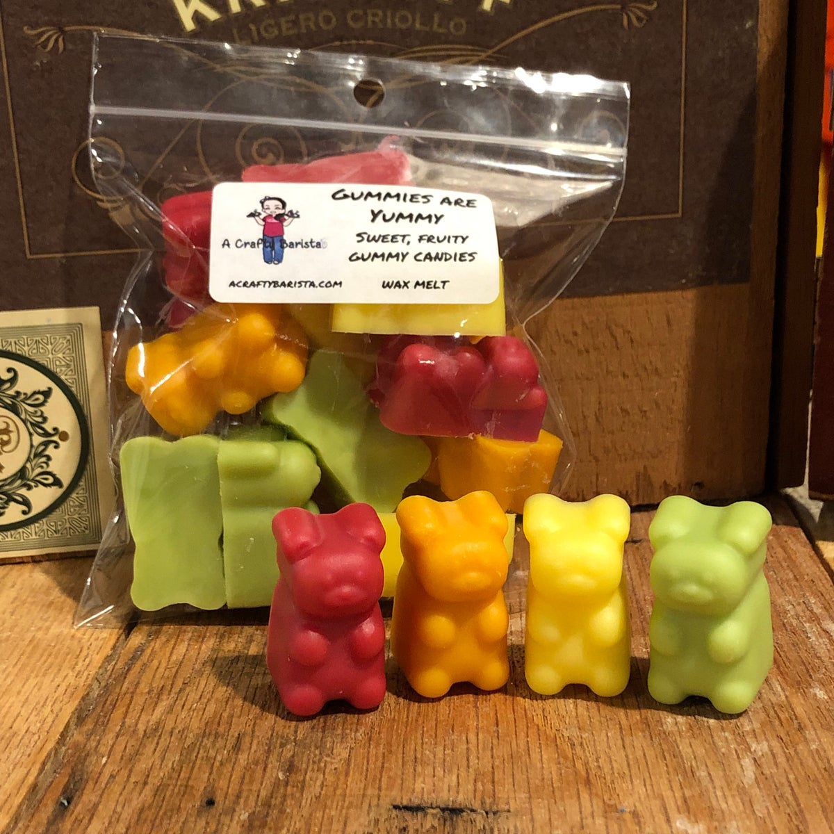 Image of Gummy Bear Wax Melts