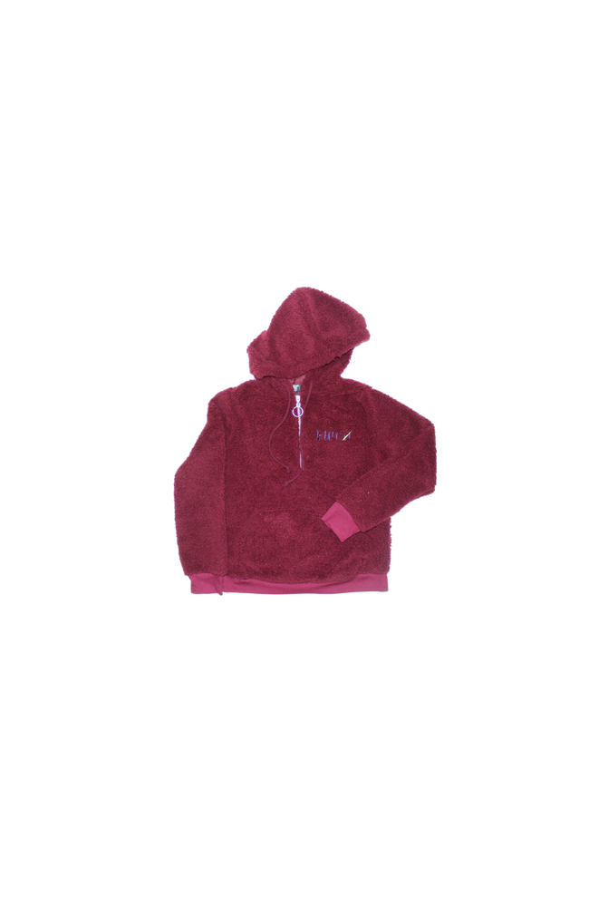 Image of BURGUNDY COZY FUR