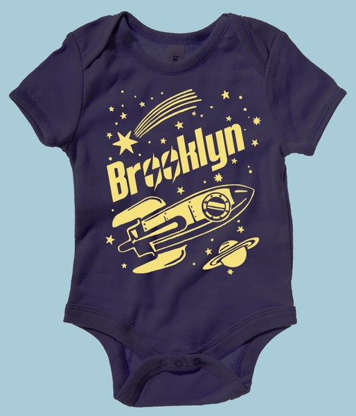 Image of Brooklyn Rocket Onesie
