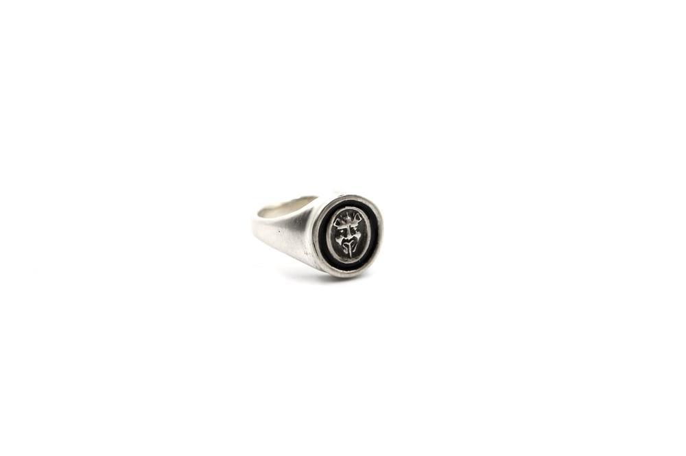 Image of Sterling Devil Ring