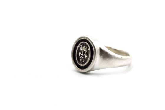 Image of Sterling Devil Ring