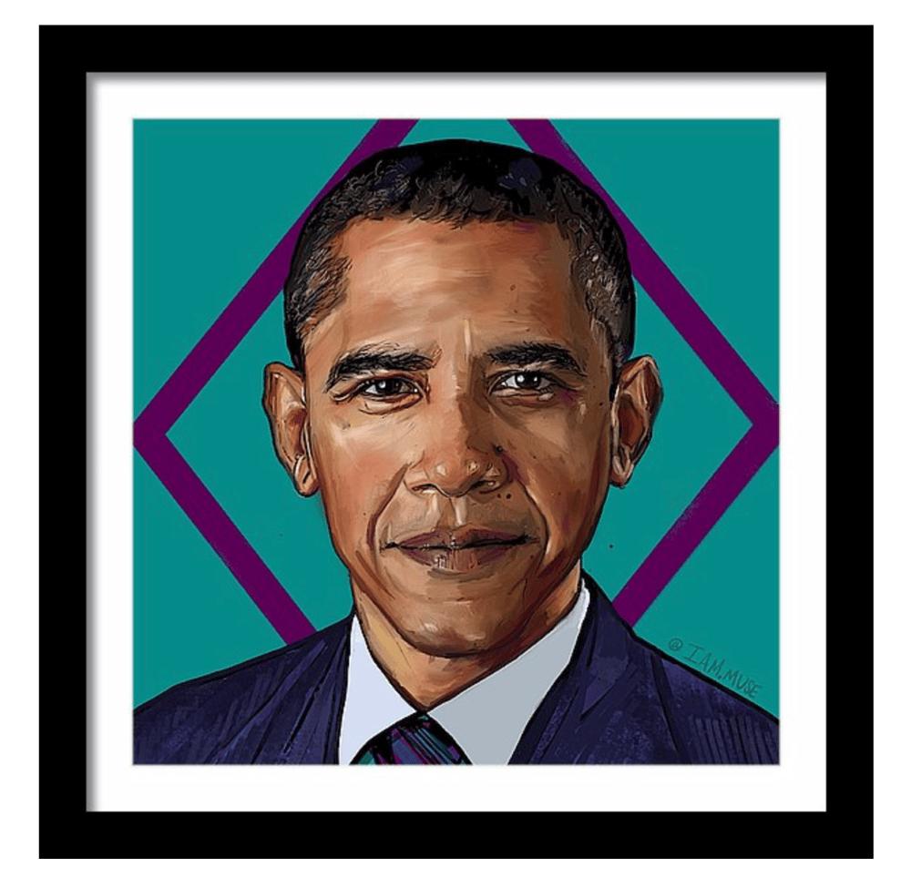 """Image of """"Barack Obama"""" Limited Edition Prints"""