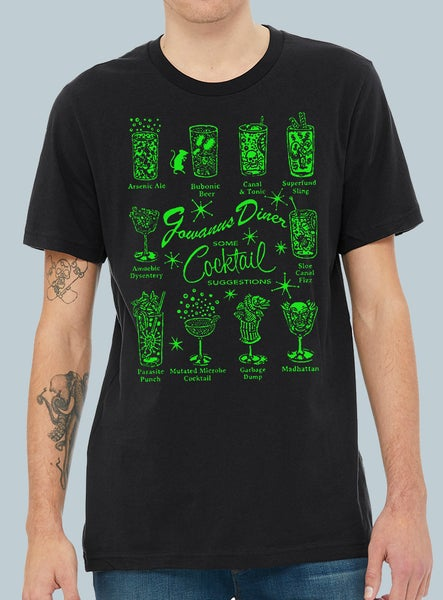 Image of Gowanus Drink Menu Tee