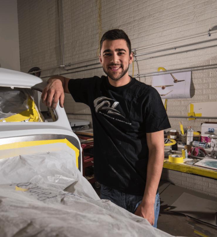 "Image of Cal Auto Creations ""Brand"" Shirt"