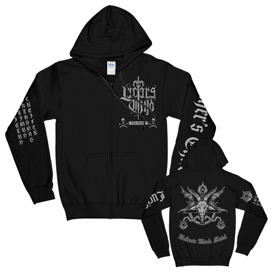 "Image of ""The Order"" Zip Hoodie"