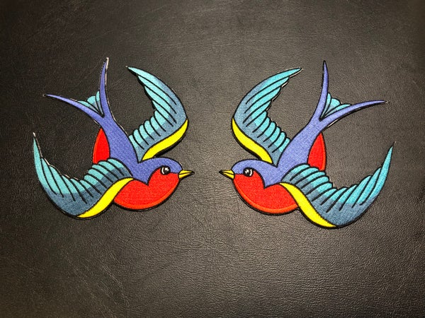 "Image of 6"" Traditional Left/Right Swallow Set"
