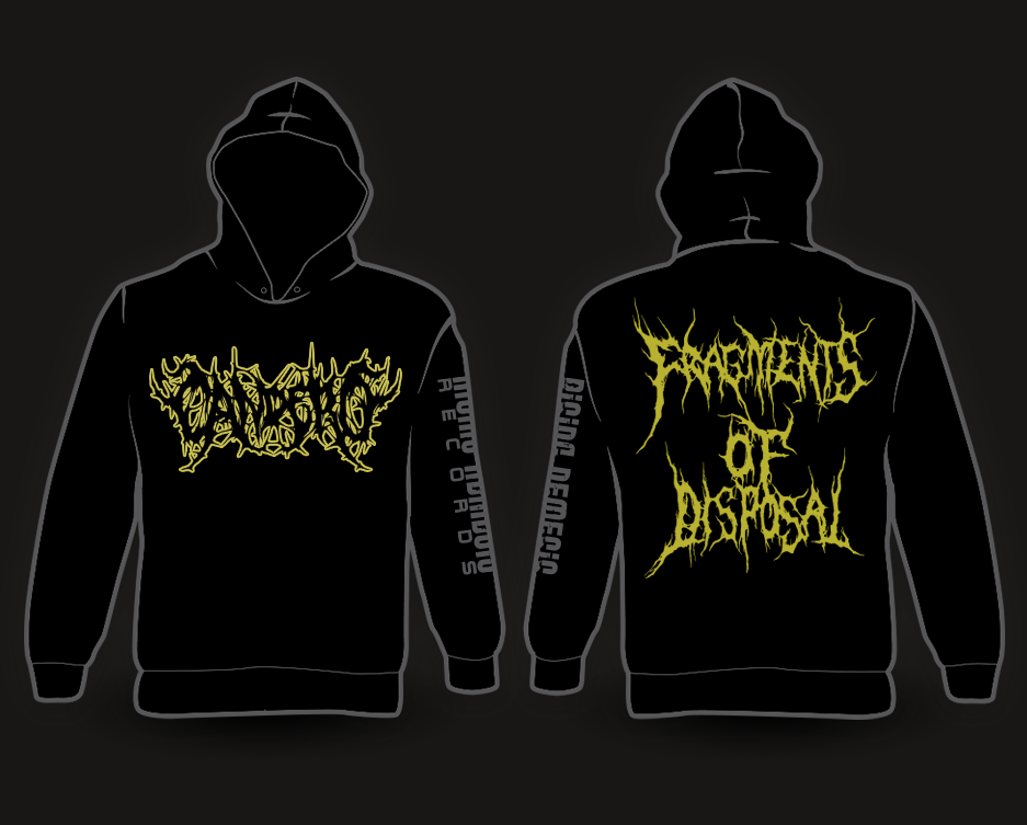 Image of CANDERO - Fragments Of Disposal Hoodie