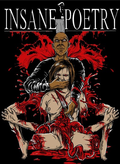 Image of INSANE POETRY: SEVERED LIMBS reg shirt