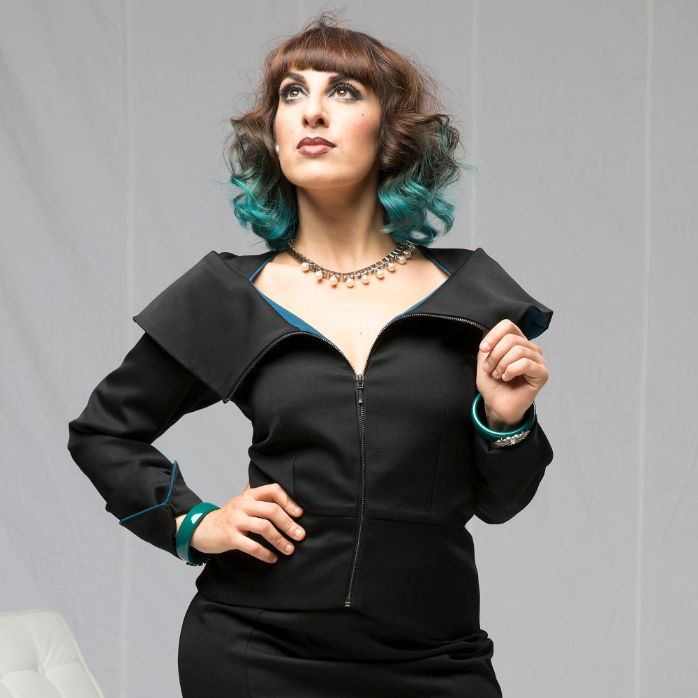 Image of MODERNIST MADAM JACKET...