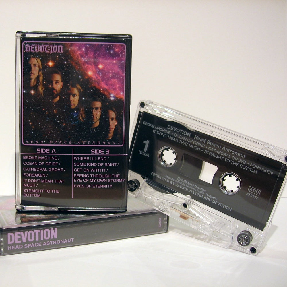 Image of DEVOTION - Headspace Astronaut cassette tape
