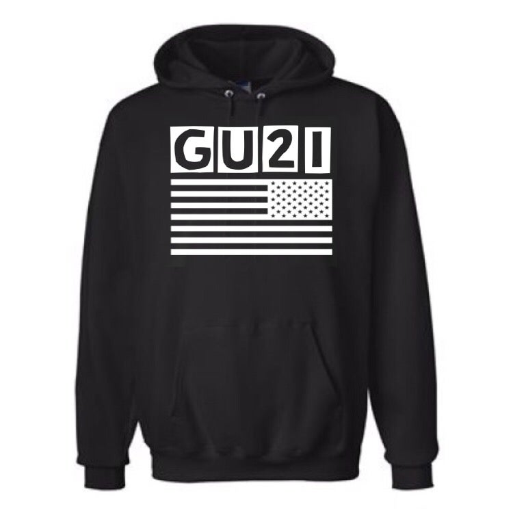 Image of GET USE 2 IT FLAG HOODIE