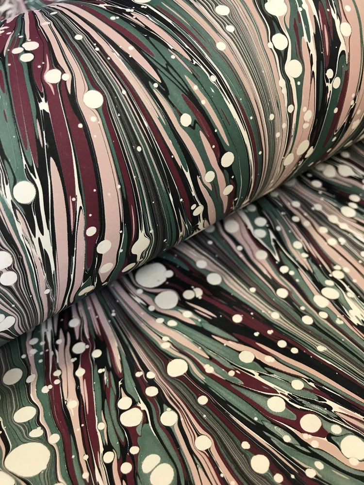 Image of Marbled Paper #28 'Zebra Marble'