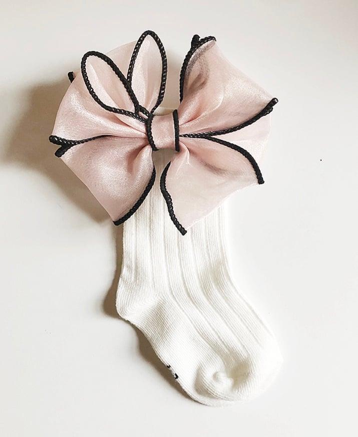 Image of Large bow socks