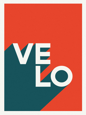 Image of VELO / Limited Edition Screenprint of 50