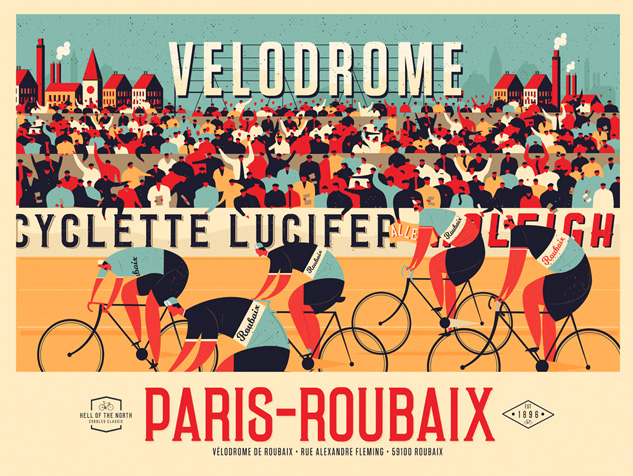 Image of Paris-Roubaix Landscape (Colour)