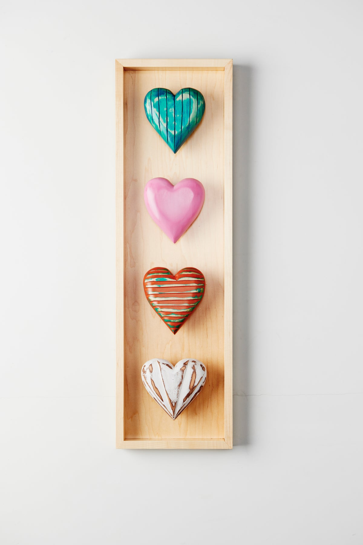 Four Heart Shadow Box